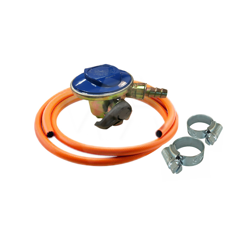 Package A: Comet Low Pressure Regulator + Hose (5ft) + Hose Clamp